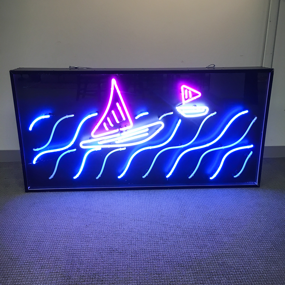 Ann Deluty Neon Sculpture Sails