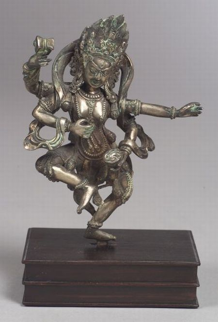 Silver Image of a Wrathful Divinity
