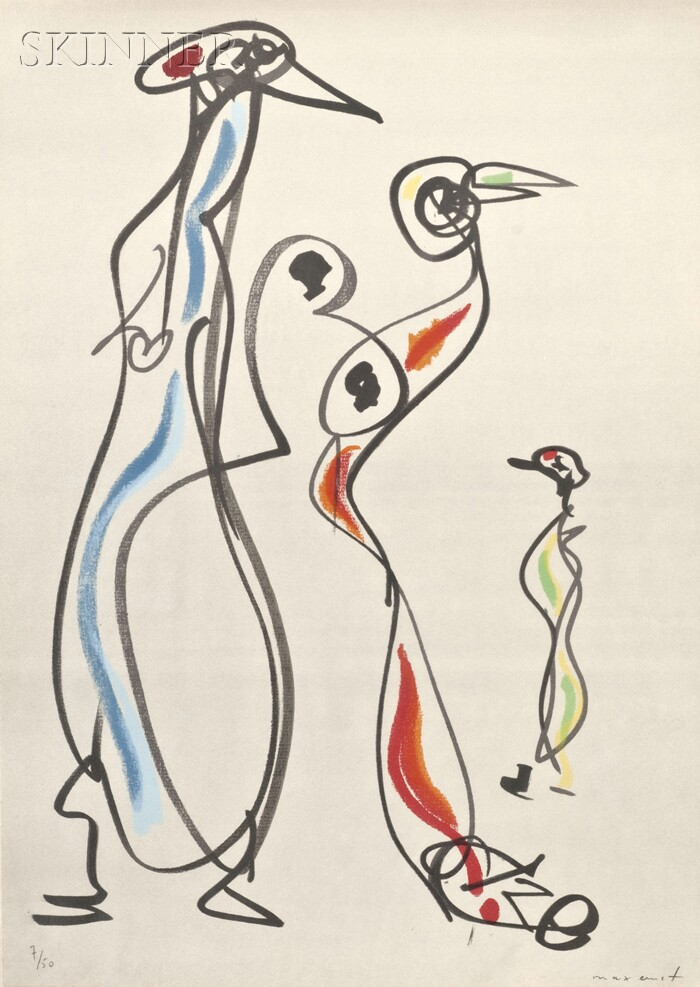 Max Ernst (German, 1891-1976)      Plate VI