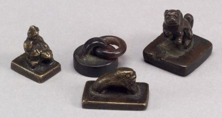 Four Bronze Seals
