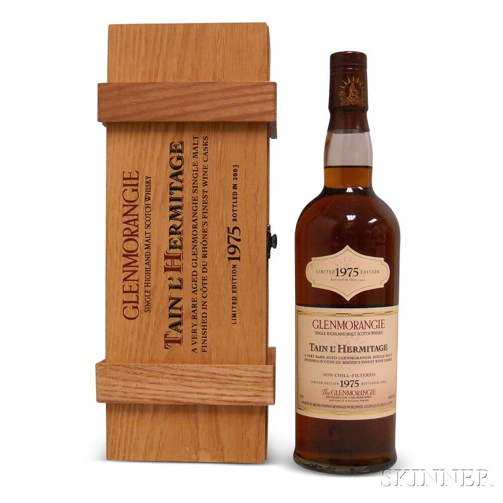 Glenmorangie Tain LHermitage 28 Years Old 1975, 1 750ml bottle (owc)