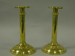 Pair of Brass Candlesticks.