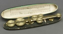 Allender's Gold Coin Scale