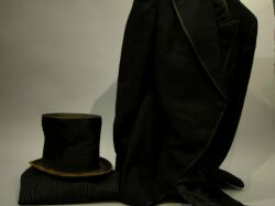 Mans Late 19th Century Dress Suit with Top Hat.