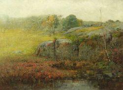 Charles Edwin Lewis Green (American, 1844-1915)  Near Foster's Dam, Swampscott, Massachusetts