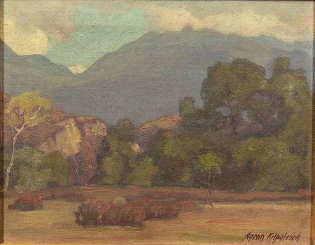 Aaron Edward Kilpatrick (American, 1872-1953)    The Cliffs, Trabuco Canyon