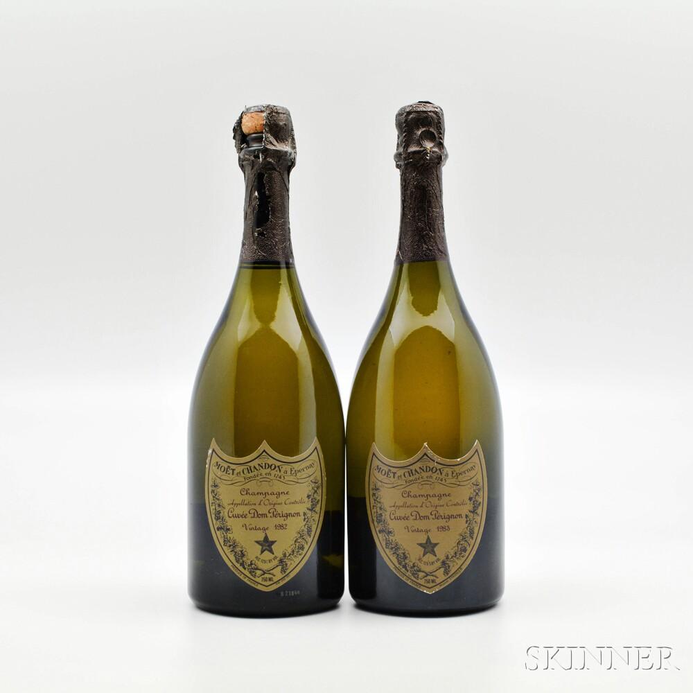 Moet & Chandon Dom Perignon, 2 bottles