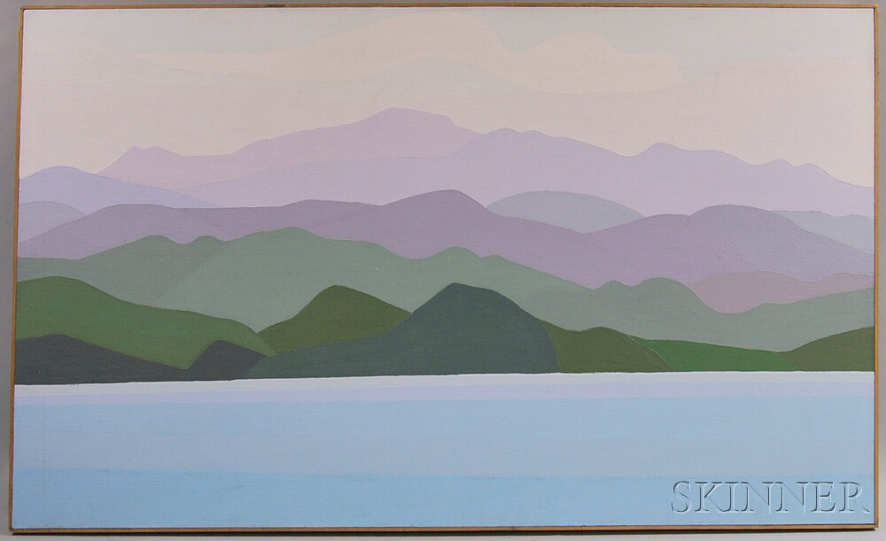 Reba Stewart (American, 1930-1971)      Fahardo   [sic  ] Shoreline