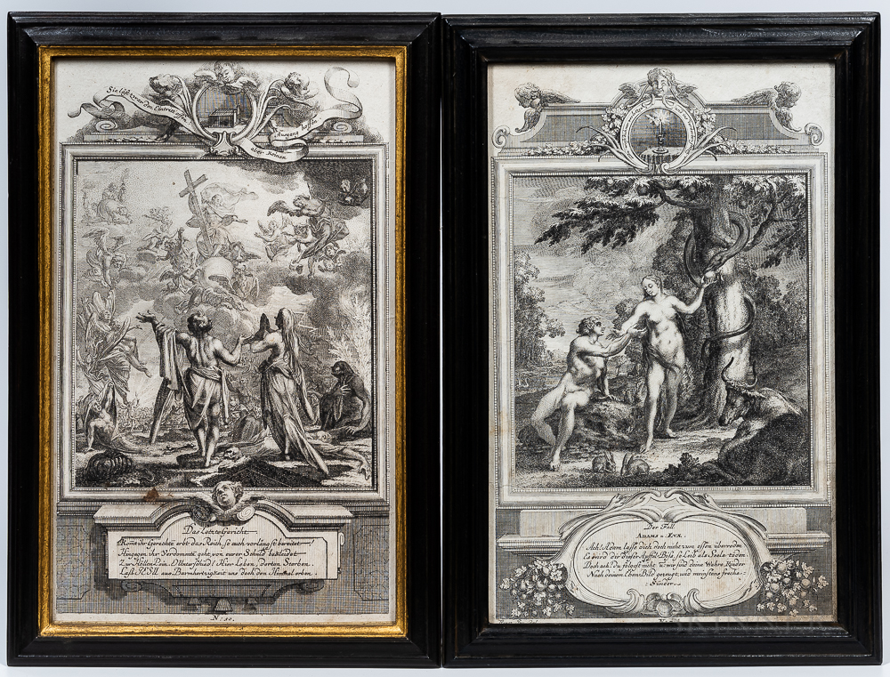 Two Early Religious Engravings