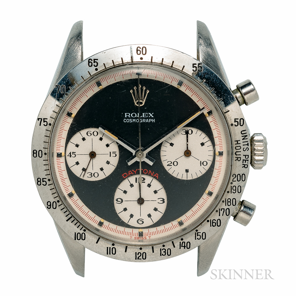 "Single-owner Rolex Daytona Reference 6239 ""Exotic"" Dial Wristwatch"