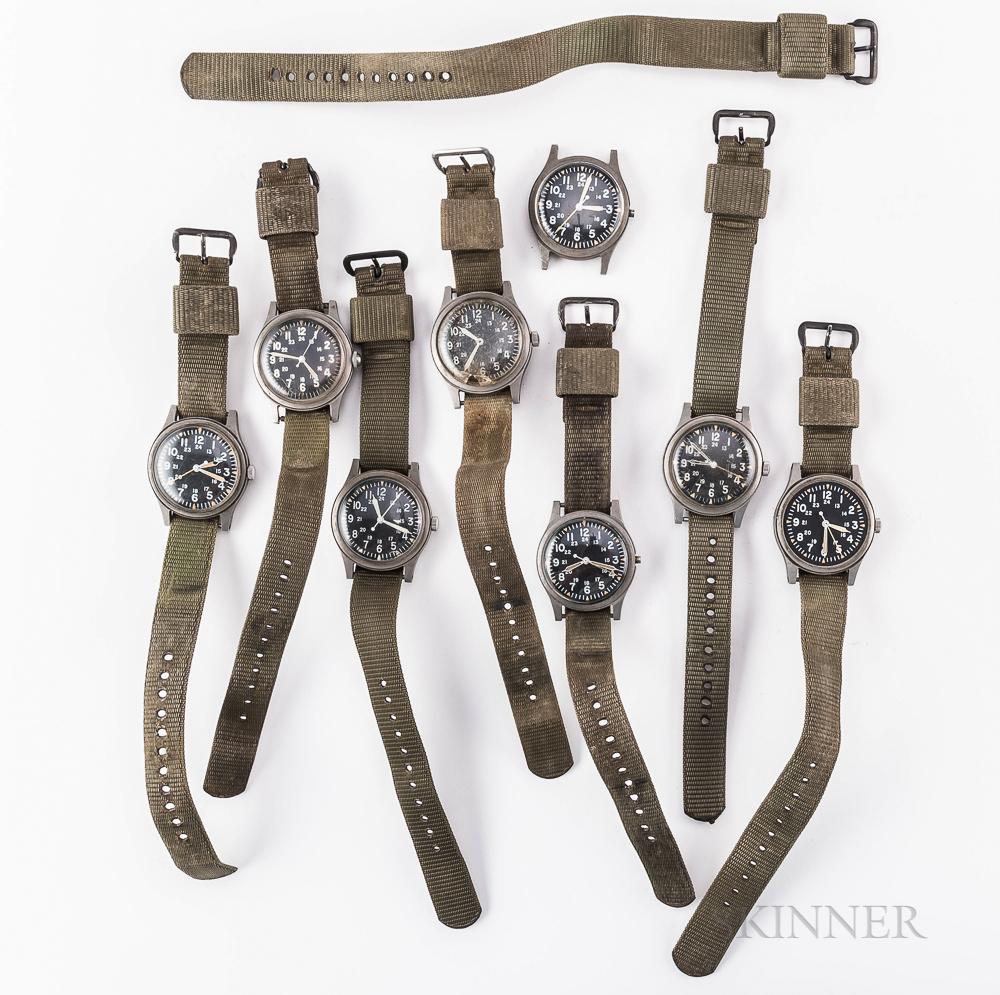 Eight Mil-Spec Wristwatches