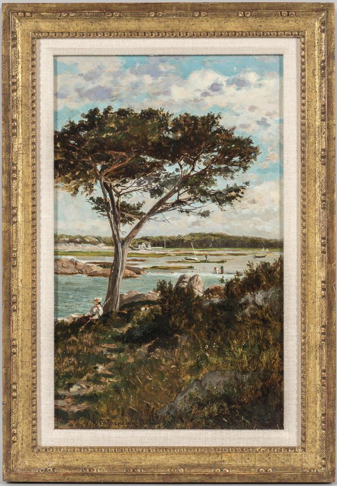 Frank Henry Shapleigh (New Hampshire, 1842-1906)      Sandy Cove, Cohasset, Massachusetts