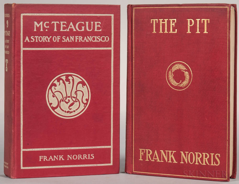 Norris, Frank (1870-1902) McTeague, a Story of San Francisco.