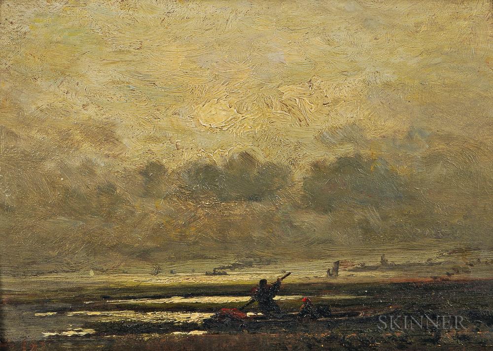 John Joseph Enneking (American, 1841-1916)      Morning on the Marshes