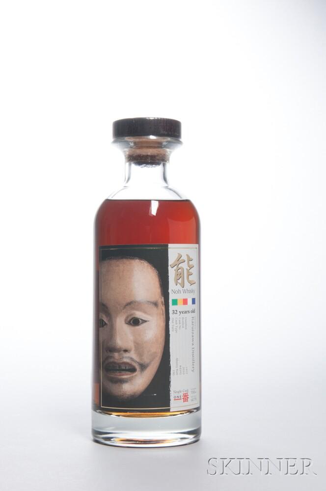 Karuizawa Noh Series 32 Years Old 1977, 1 70cl bottle (oc)