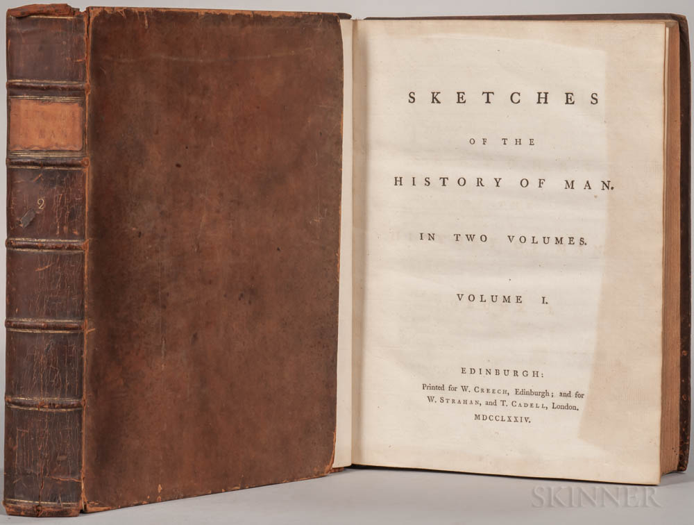 Henry Home, Lord Kames (1696-1782) Sketches of the History of Man.