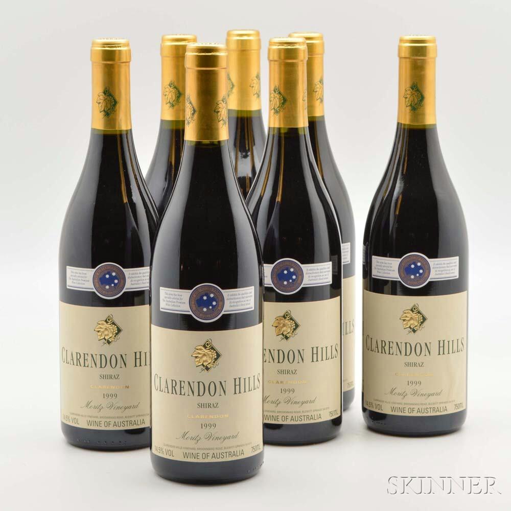 Clarendon Hills Shiraz Moritz 1999, 10 bottles