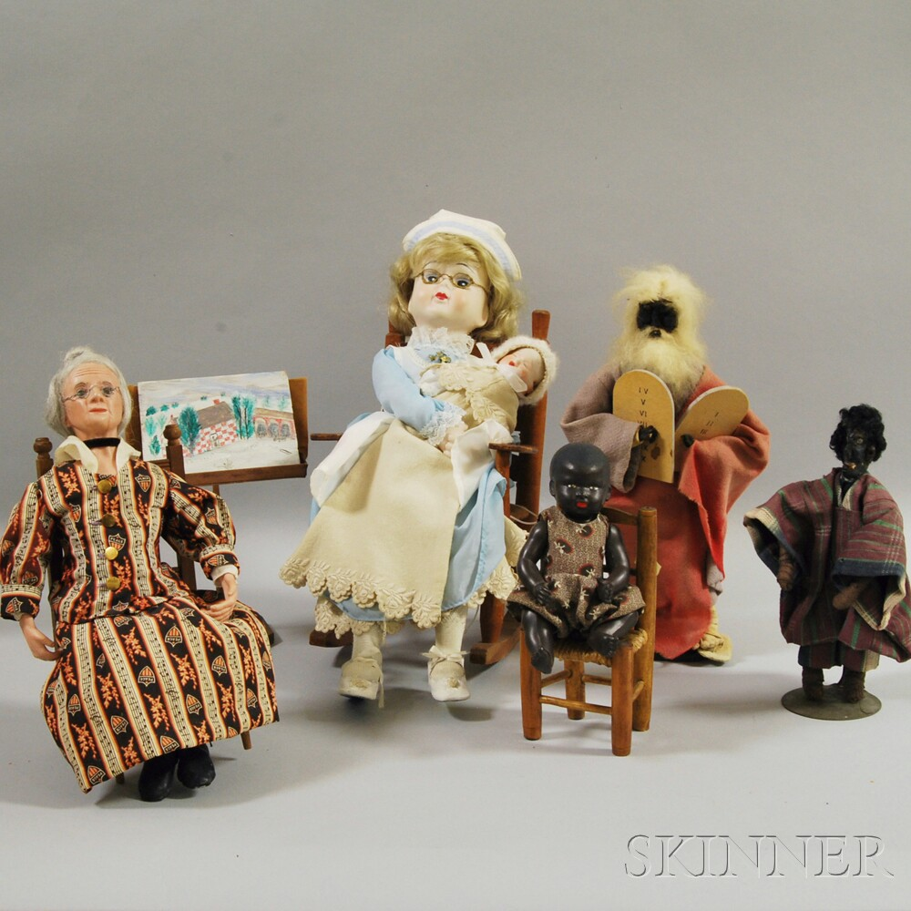 Miscellaneous Group of Dolls