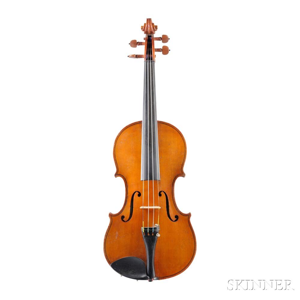 German Violin, Albin L. Paulus, Jr., Markneukirchen