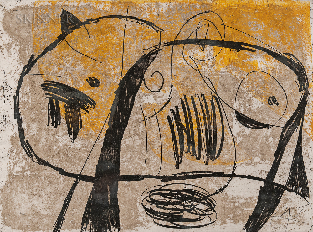 Joan Miró (Spanish, 1893-1983)      La Commedia dell'Arte V