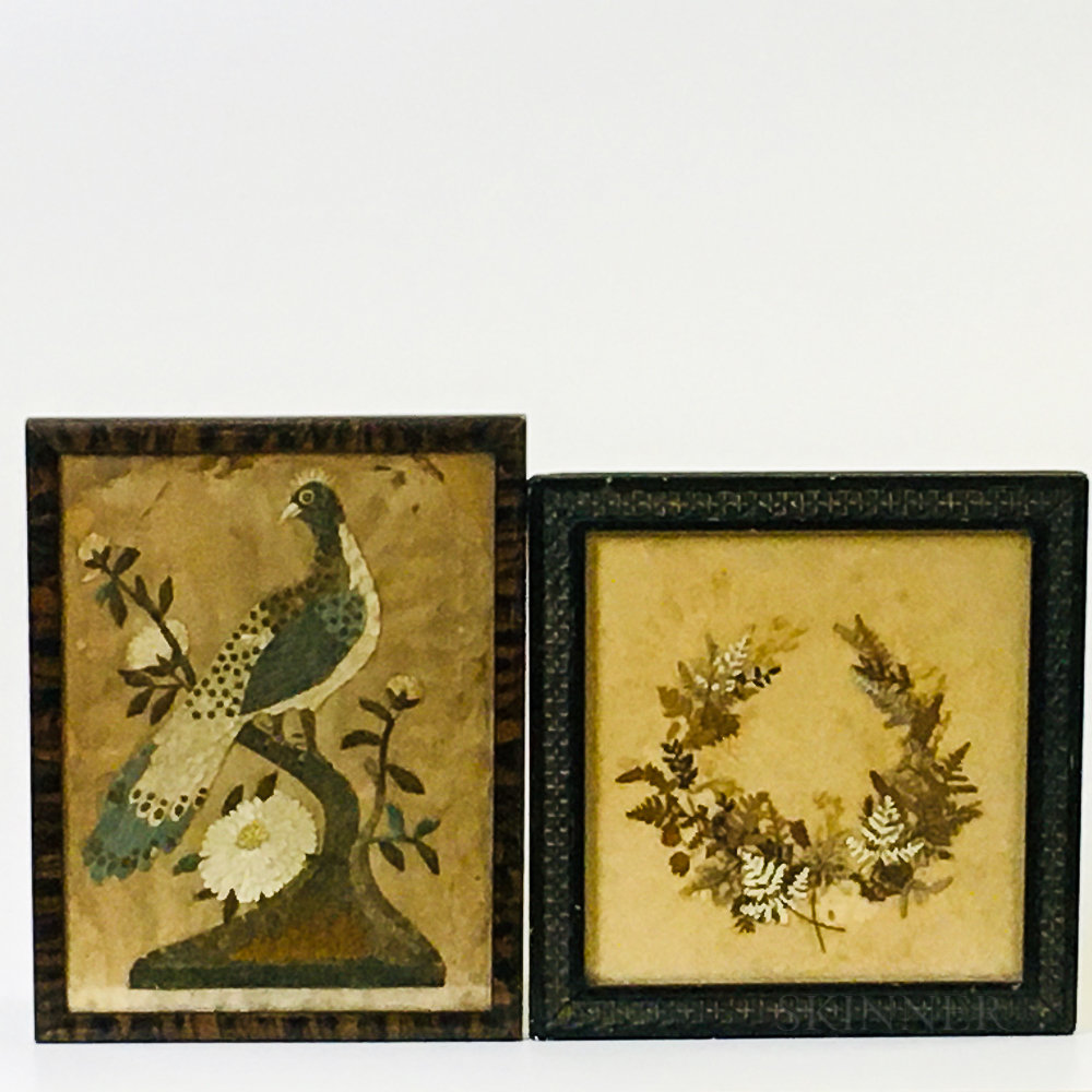 Two Small Framed Works