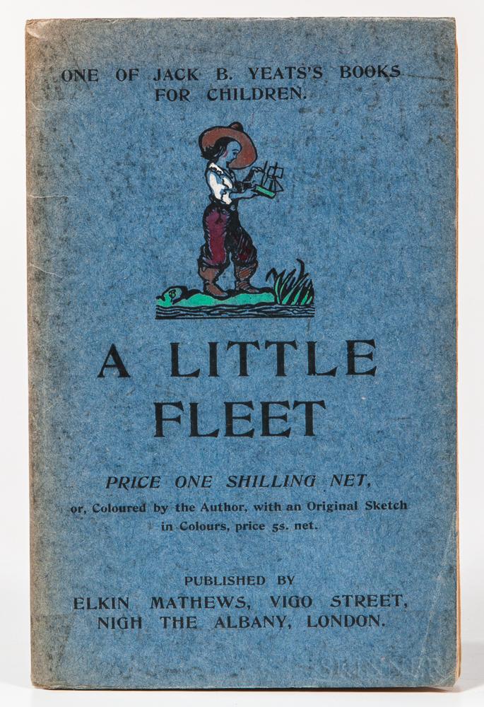 Yeats, Jack B. (1871-1957) A Little Fleet, One of Jack B. Yeats's Books for Children.