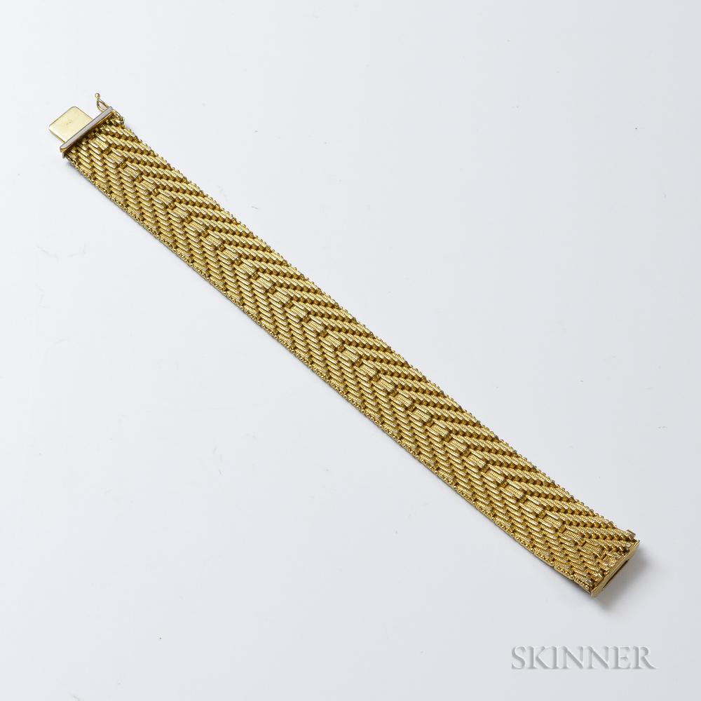 Italian 18kt Gold Bracelet