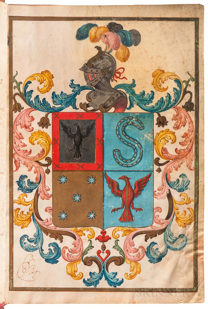 Patent of Nobility, Carta Ejecutoria, Spain, 1776.