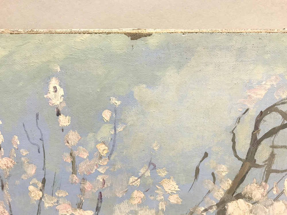 Henri Lebasque (French, 1865-1937)      Collioure, les amandiers en fleurs