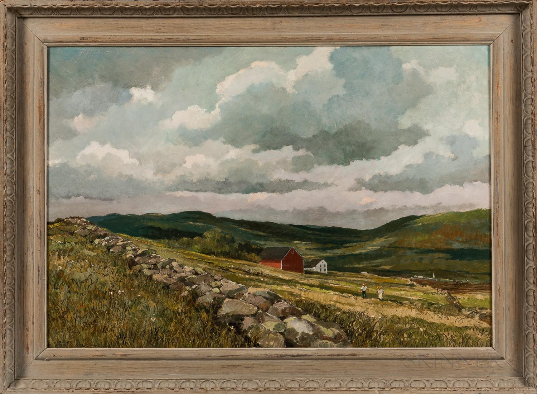 Eric Sloane (New York/Connecticut, 1910-1985)      Vermont Spring
