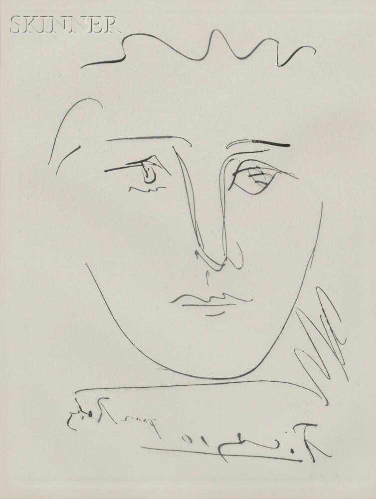 Pablo Picasso (Spanish, 1881-1973) L\'age de soleil (pour Robie ...