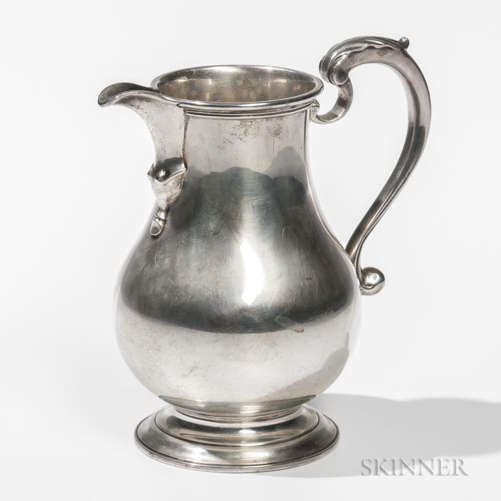 Becht & Hartl Sterling Silver Pitcher