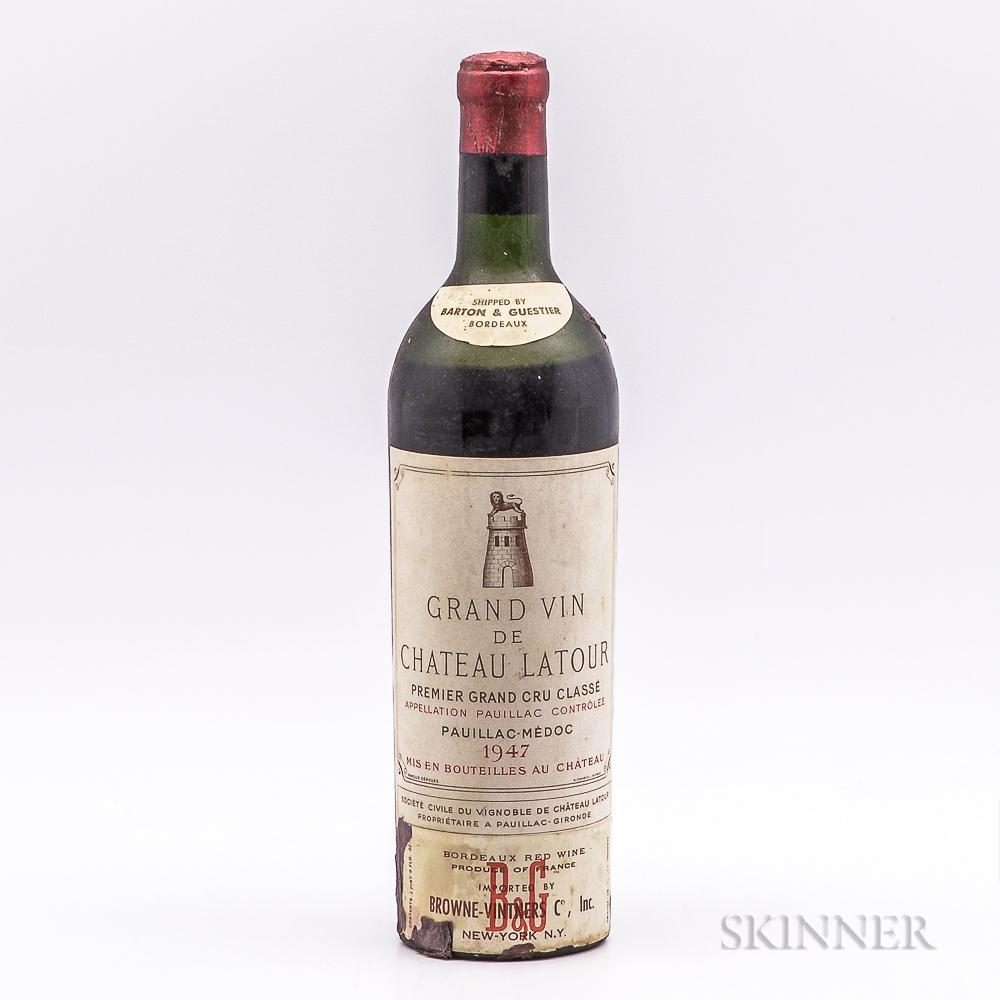 Chateau Latour 1947, 1 bottle