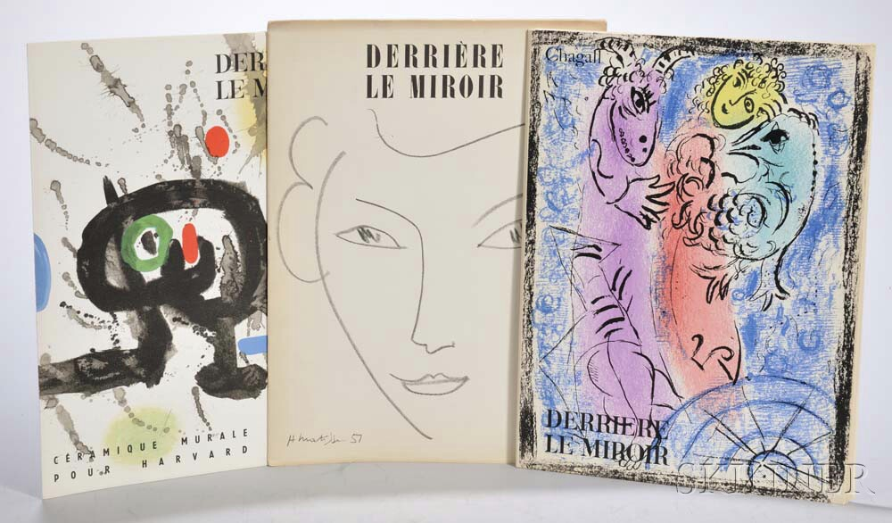 Derriere le Miroir  , Approximately Seventy-two Issues, 1951-1972.