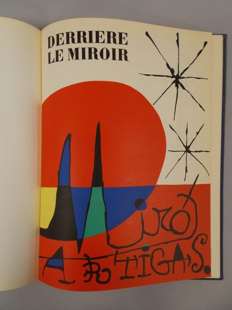 Mir joan 1893 1983 derriere le miroir sale number for Miro derriere le miroir