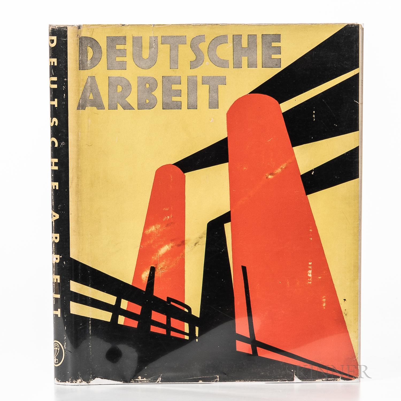 Hoppe, Emile Otto (1878-1972) Deutsche Arbeit Bilder Vom Wiederaufstieg Deutschlands.