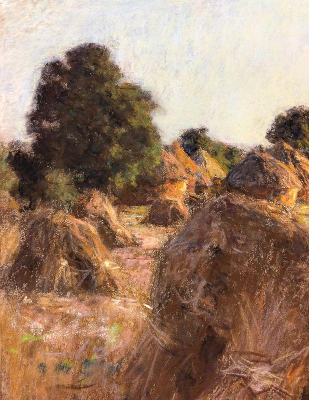 Léon Augustin Lhermitte (French, 1844-1925)      The Hayfield