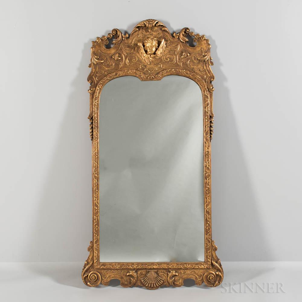 Georgian Carved Giltwood Mirror