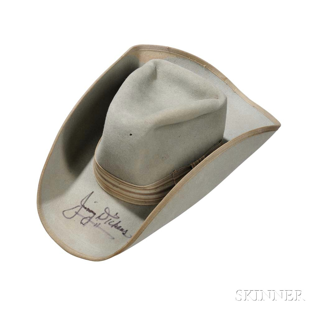 Little Jimmy Dickens     Resistol Blue Felt Cowboy Hat
