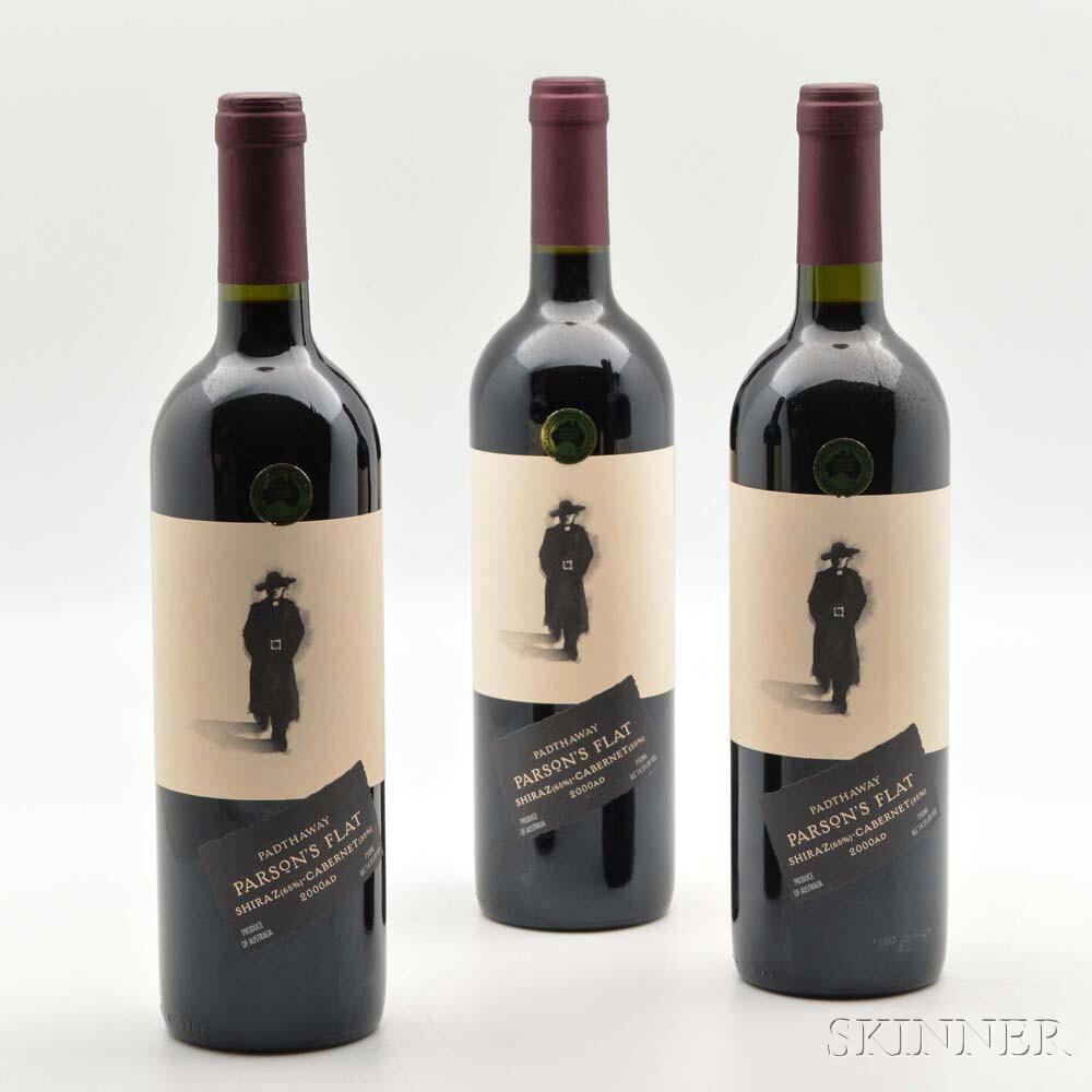 Henrys Drive Parsons Flat Shiraz/Cabernet 2000, 11 bottles
