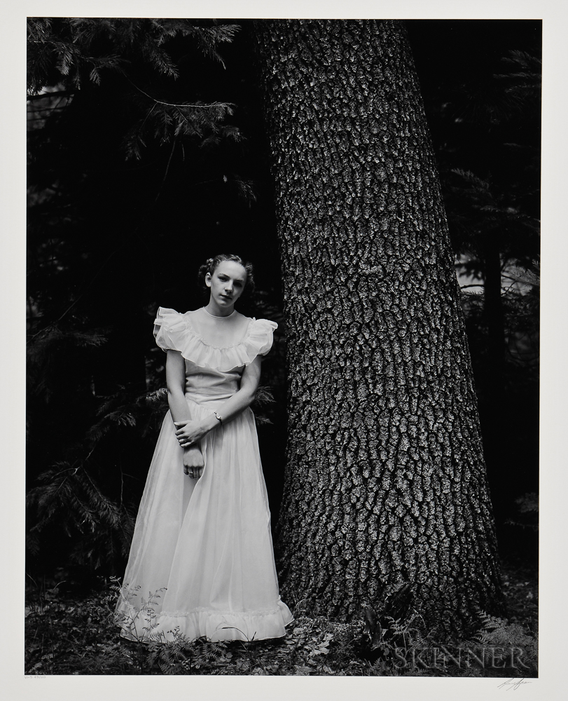 Ansel Adams (American, 1902-1984)      Graduation Dress, Yosemite Valley, California