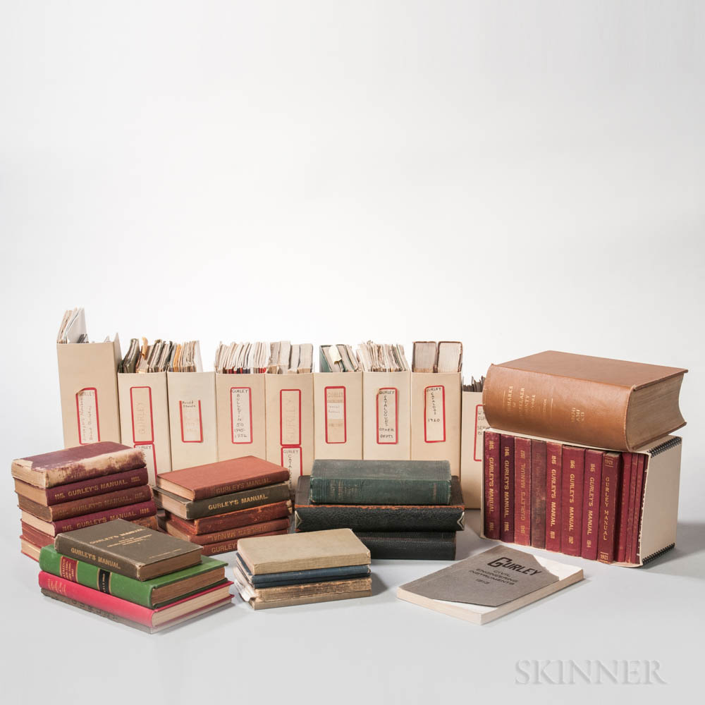 Collection of Gurley Catalogs