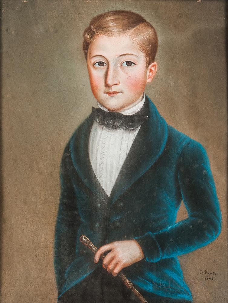 French School, 19th Century      Portrait de Jules Claretie