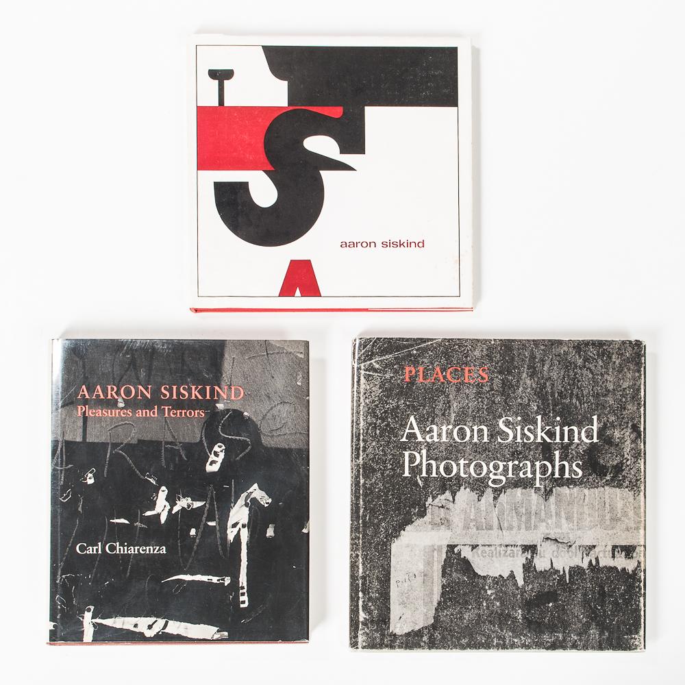 Siskind, Aaron (1903-1991) Three Works.
