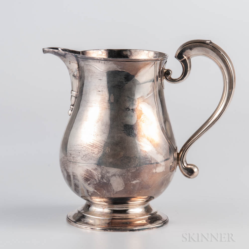 George III Sterling Silver Pitcher