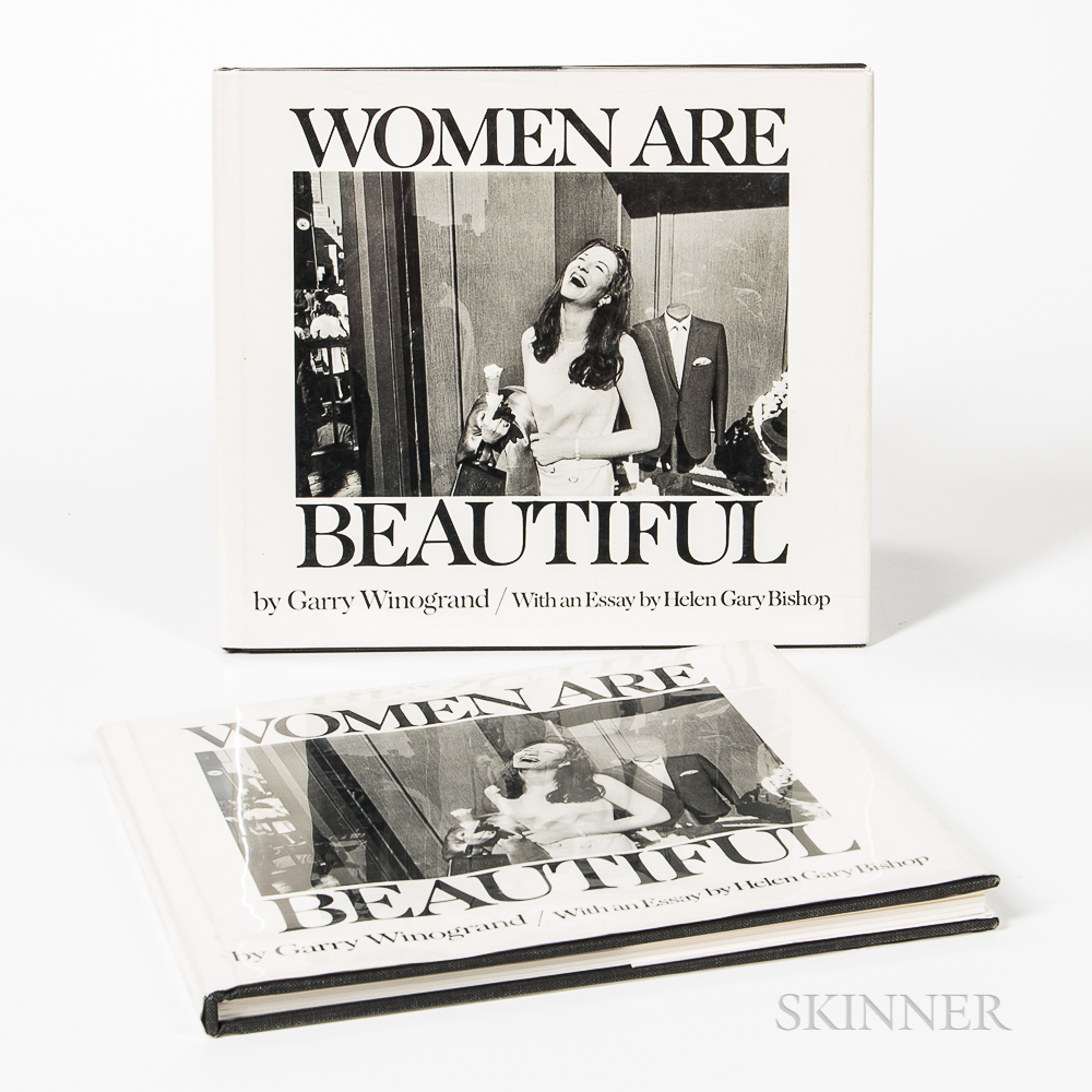 Winogrand, Garry (1928-1984) Women are Beautiful.   Two Copies.