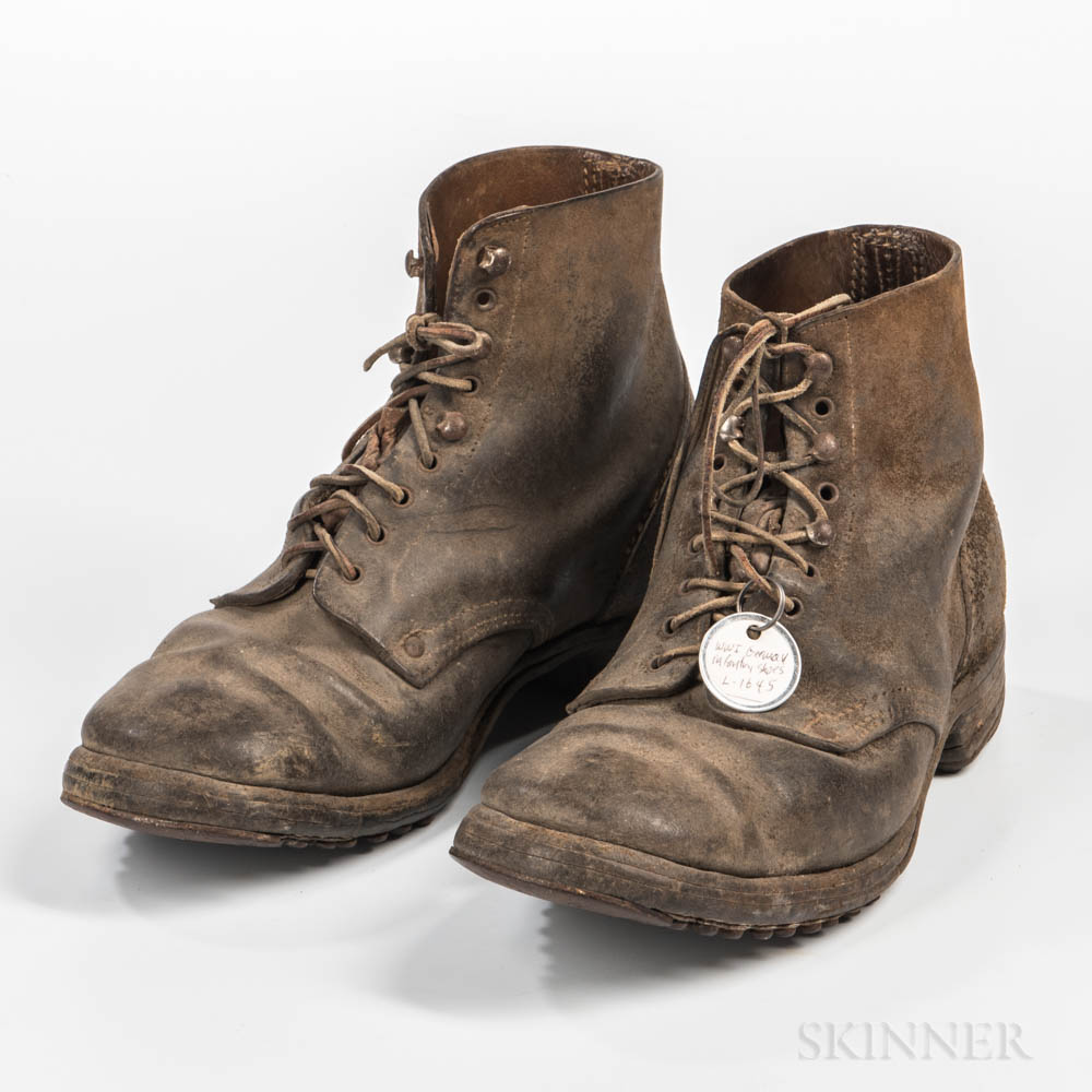 Imperial German Low Boots
