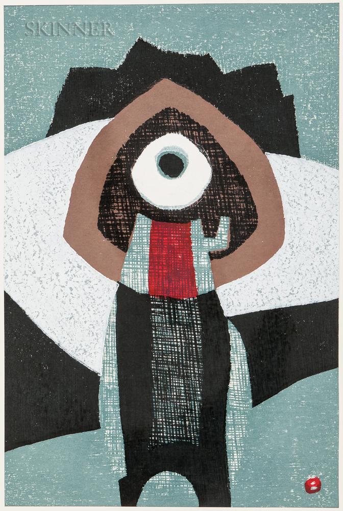 Various Japanese Artists: Unichi Hiratsuka (1895-1997), Reika Iwami (b. 1927), Haku Maki (1924–2000), Maekawa Sempan (1888–1960), Tamam