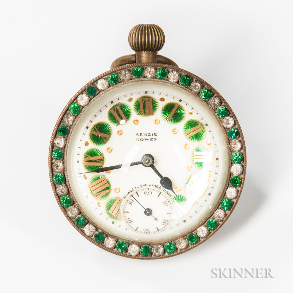 3-inch Guilloche Decorated Paperweight Ball Clock