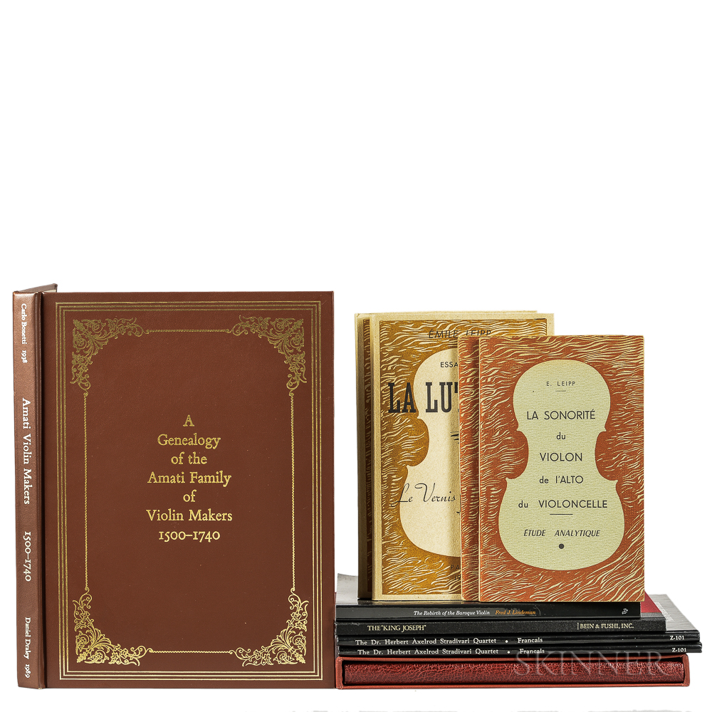 Ten Books on Violins